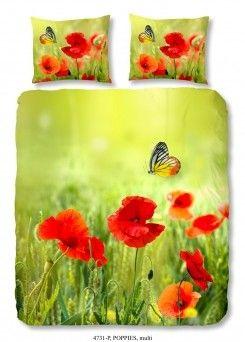 Dekbedovertrek Natuur Vlinder
