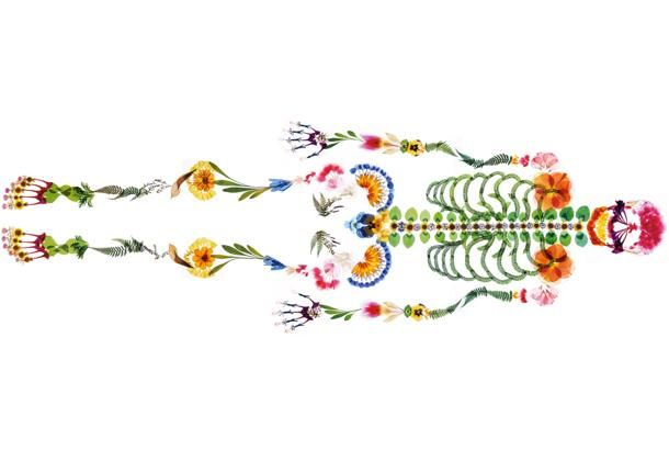 これは「希望がある、死」というキャッチコピーがついた、西日本典礼の広告です。人の最後の姿を花で表現するという発想にまず驚かされま...