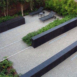 andrea cochran landscape design | granite walls