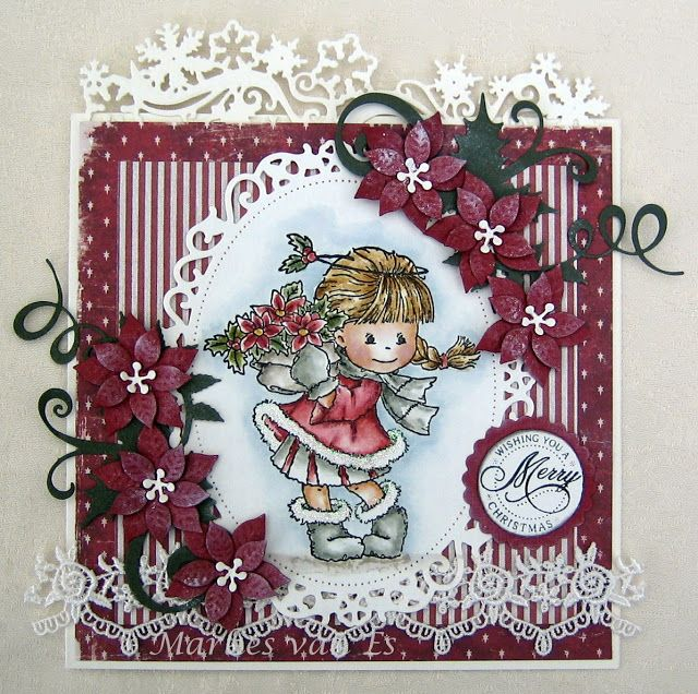 Scrapcards by Marlies: Add a Christmas sentiment at Stamping Sensations