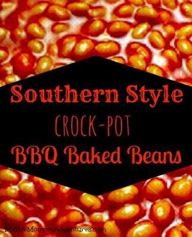 Southern Style Crockpot Baked Beans