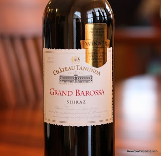 Chateau Tanunda Grand Barossa Shiraz 2010 - Juicy! An Excellent Fusion of Juicy Fruit and Black Pepper. $14  http://www.reversewinesnob.com/2013/01/chateau-tanunda-grand-barossa-shiraz.html