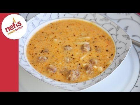 Erişteli Köfte Çorba Tarifi | Nefis Yemek Tarifleri