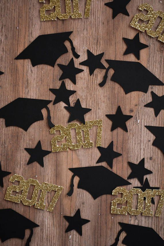 Graduation Party Confetti Graduation Party Supplies High School Graduation Party Graduation Table Decorations