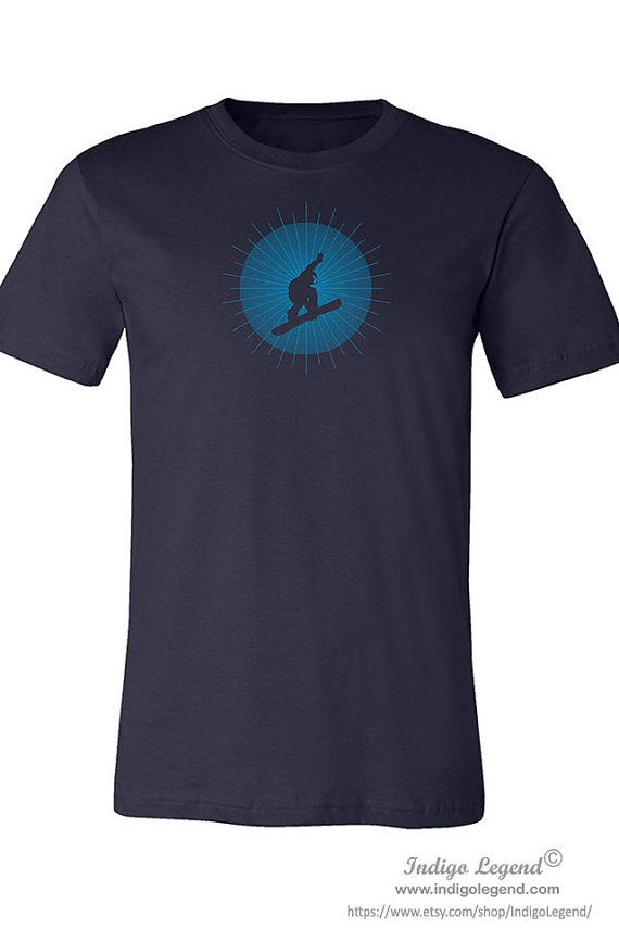 Snowboarder shirt for men. Cool shirt for men with by IndigoLegend