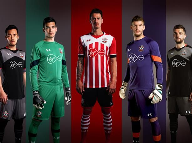 SOUTHAMPTON FC | Southampton's first Under Armour kits revealed