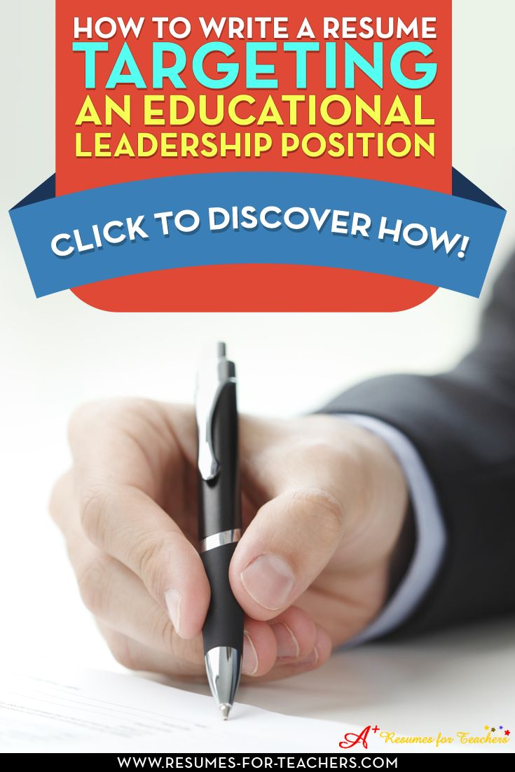 "When writing an educational leadership resume, such as a school administrator focused resume, relevant skills, accomplishments, and work experience are the best qualifications you can showcase. The keyword in the above sentence is ""relevant"". http://resumes-for-teachers.com/blog/administrator/writing-an-administrator-focused-resume/"