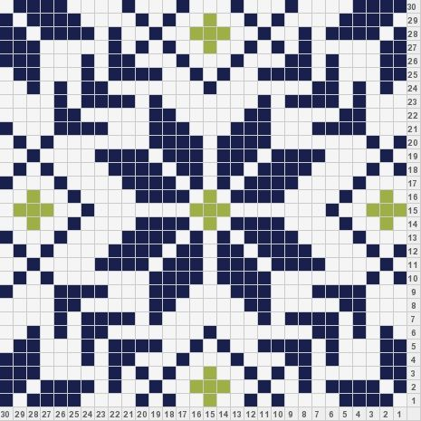 love this fair isle (can't find it on the website but could probably just print this chart)