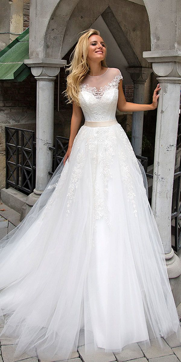 Oksana Mukha Wedding Dresses 2017 ❤ See more: http://www.weddingforward.com/oksana-mukha-wedding-dresses/ #weddings