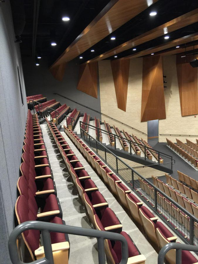 The Eagle | Auditorium Progress Update