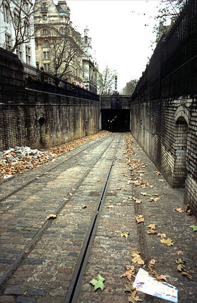 Deserted Places: Kingsway Tram Tunnel, London.
