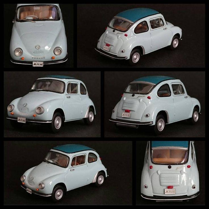 ★スバル360 1958 #スバル #スバル360 #デメキン #初期型 #360 #軽自動車 #軽 #てんとう虫 #50s #昭和 #レトロ #旧車 #日本車 #車 #ミニカー #ミニカーコレクション #コレクション #メイクアップ #subaru #subaru360 #minicar #oldcar online instagram - goldpix