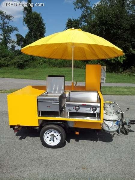 New Listing: http://www.usedvending.com/i/2009-65-H-X-72-W-x-74-L-Carry-On-Hot-Dog-Street-Food-Cart-/PA-Q-576M  2009 65Hx72Wx74L Carry On Hot Dog Street Food Cart