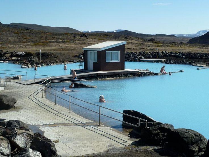 #Islande - Centre thermal de Myvatn - Annie Vialard
