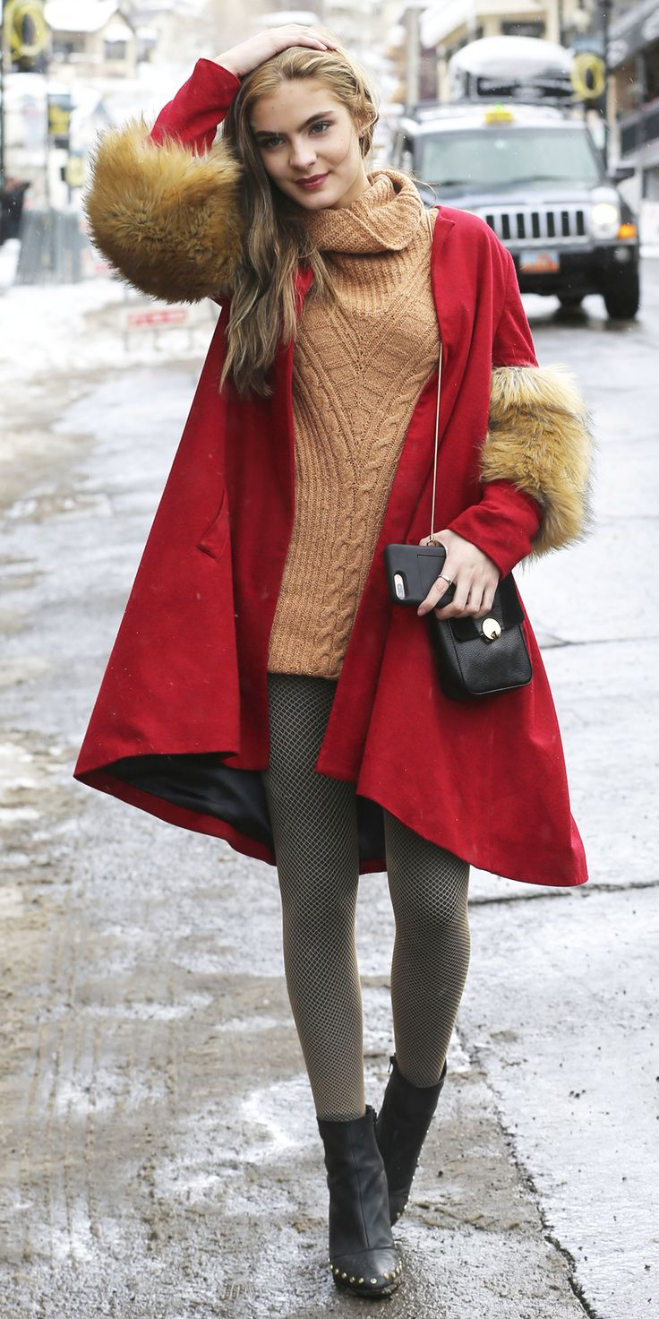 Street Style Trends You'll Want to Copy from the Sundance Film Festival - Brighton Sharbino from InStyle.com