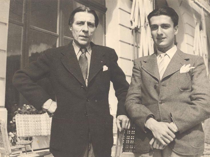 1935- cu Alfred Corot, marele pianist al vremii, profesorul de interpretare al lui Dinu Lipatti
