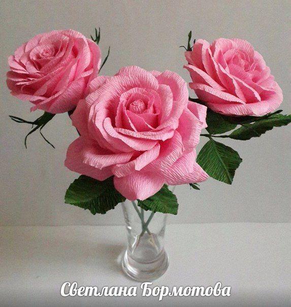 Мастер-класс объемной розы