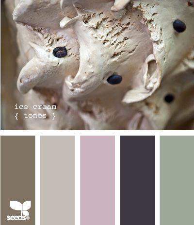 ice cream tonesBathroom Colors, Design Seeds, Bedrooms Colors, Colors Palettes Cream, Master Bedrooms, Ice Cream, Colors Schemes, Cream Tone, Colours Palettes