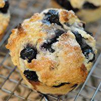 Saskatoon Berry Muffins by Grandma