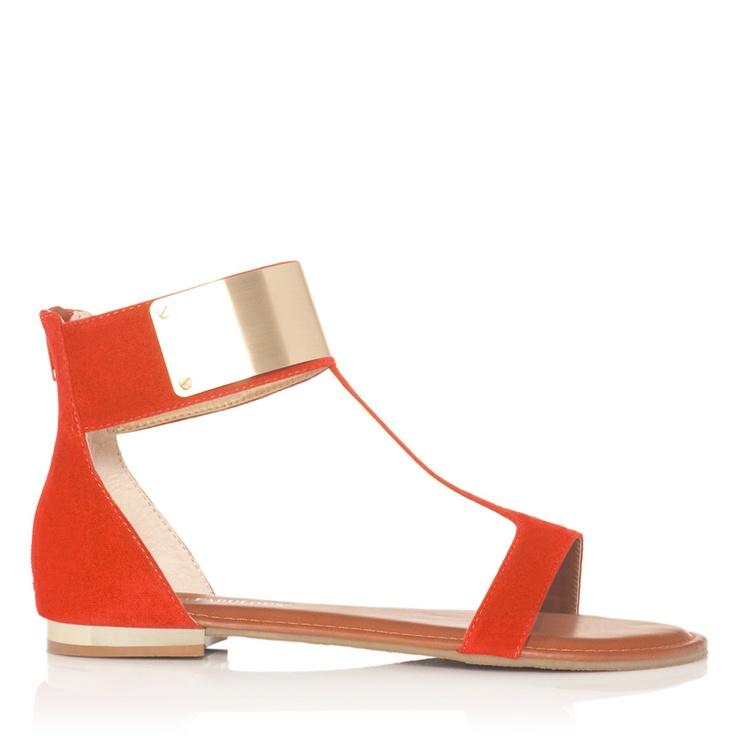 metal cuff sandals