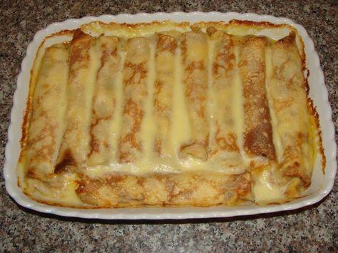Clatite cu branza la cuptor - delicioase si rapide | KFetele