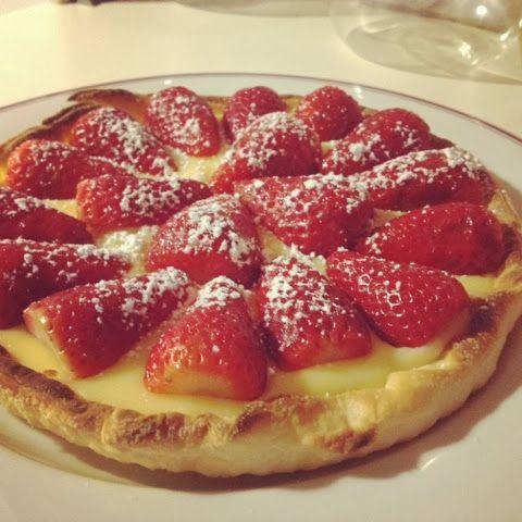 tarta rápida hojaldre fresa crema sin gluten