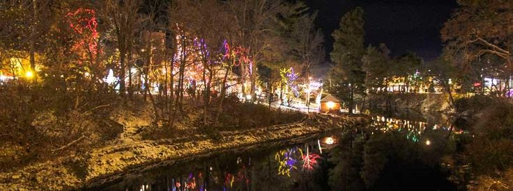 Festival of Northern Lights - Sydenham River is a winter dream stroll with the family and friends.