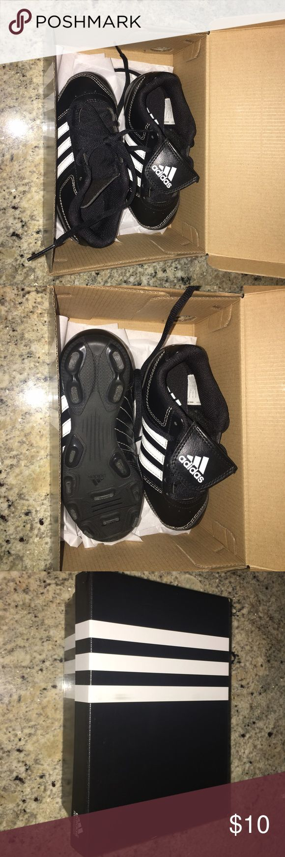 Adidas Baseball ⚾️ shoes They were worn only 5 times and for an hour each day. Great deal. Adidas Shoes Sneakers