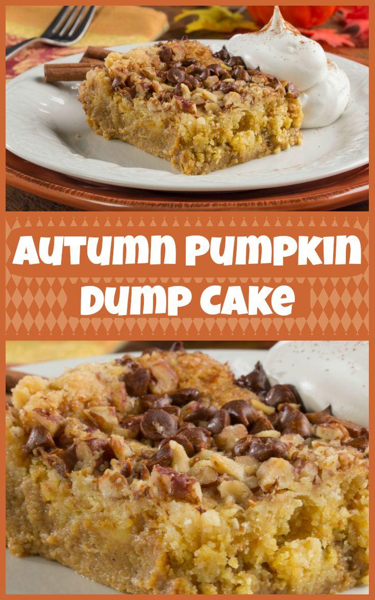 Mr Food Pumpkin Dump Cake