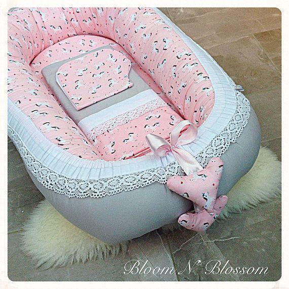 Baby nest MINKY CUDDLE BLANKET sleeping pod babynest cot bed