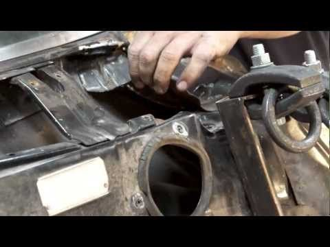 In this episode of The Build, Rick Drewry, American Modern's Sr. Claims Specialist focuses on the firewall. Rick & his team look to utilize the frame puller & attempt to pull out the smashed front of the 1965 Chevelle Malibu SS.  Watch as they run into a temporary issue, & how they look to remedy the situation quickly and efficiently.  Want to learn more about The Build?  Be sure follow us on Facebook: http://www.facebook.com/AmericanModernCollectorCar #TheBuild @American Modern Insurance…
