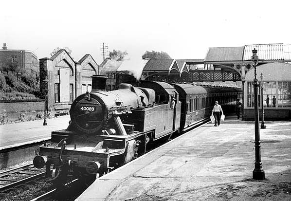 LMS Stanier 3P-B at Withington Manchester