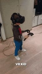 Probably one of the youngest VR player 4 year-old http://ift.tt/2dGhbq0