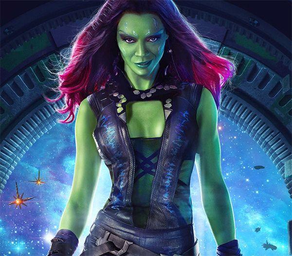 Miss Green Lady Gamora Guardians Of The Galaxy Adam Warlock Marvel