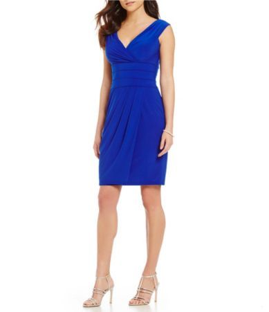Shop for Kay Unger Portrait Collar Sheath Dress at Dillards.com. Visit Dillards.com to find clothing, accessories, shoes, cosmetics & more. The Style of Your Life.