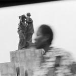 Pictures from moving cars, Luanda. 1992