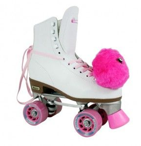 My roller skates didn't look exactly like these, but I did rock the pink pom-poms!!!                                                                                                                                                                                 More