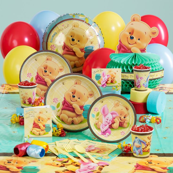 17 best images about disney baby shower on pinterest for Baby shower decoration kit