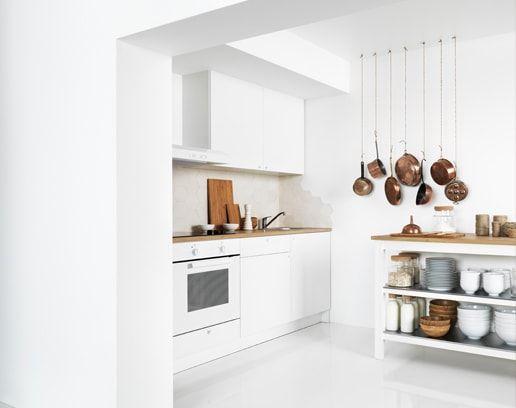 Knoxhult Kuchnia Biały Kitchen Dining W 2019