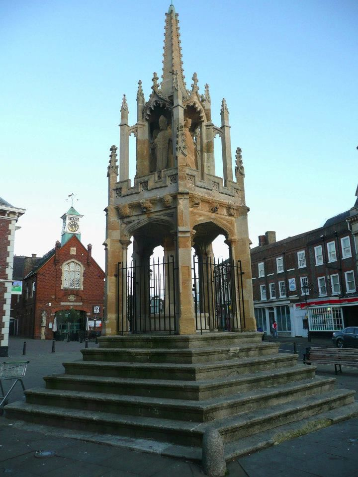 The 14th Century market cross, Leighton Buzzard.