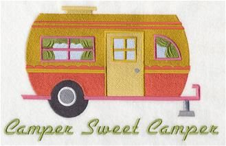 Machine Embroidery Designs at Embroidery Library! - Camping