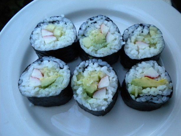 Low Carb Riceless Maki Sushi Rolls Recipe - Food.com