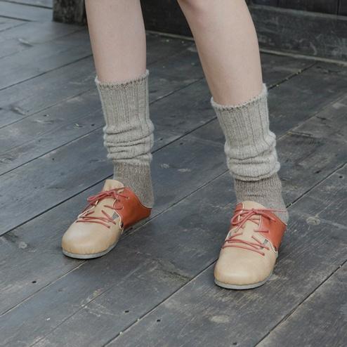 ふわふわゆったりルーズリブソックス 靴下屋 / ¥1,050