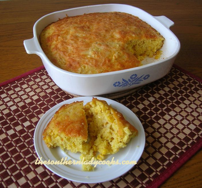 Cornbread Pudding | Food I Love - Side Dishes | Pinterest