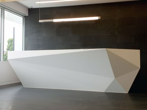 A reminder that the front desk could serve as a strong design element. The more interesting, engaging, and unique the space, the more likely people will feel compelled to enter.