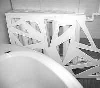 Majsterkowanie z pomysłem.: 2. Remont łazienki – prosty sposób na designerski grzejnik i nie tylko.