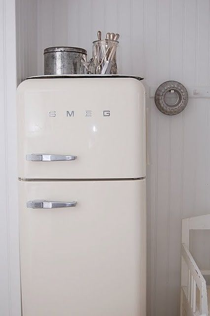 Object of desire : Smeg fridge