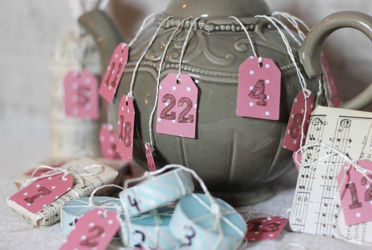 Teapot Advent Calendar
