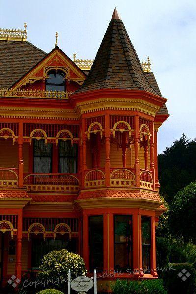 Ферндейл Особняк, Северная Калифорния, с помощью Фото Спархок в