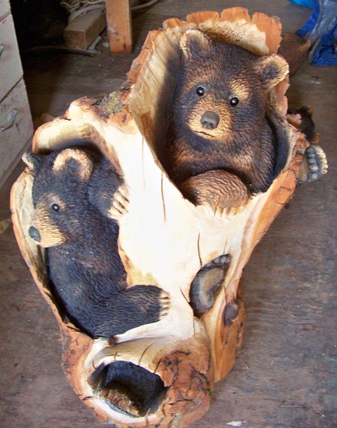 Bears by jesse cabin decor pinterest wood